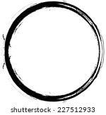 grunge distress frame . vector... | Shutterstock .eps vector #227512933