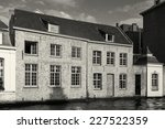 architecture of bruges  west... | Shutterstock . vector #227522359