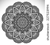 mandala. round ornament pattern.... | Shutterstock . vector #227523994