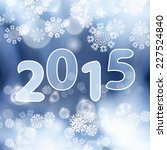 winter background with... | Shutterstock . vector #227524840