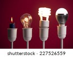 progress of lighting displayed... | Shutterstock . vector #227526559