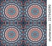 seamless indian pattern | Shutterstock . vector #227543590