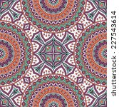 seamless indian pattern   Shutterstock . vector #227543614