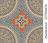 seamless indian pattern | Shutterstock . vector #227544676