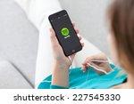 alushta  russia   october 29 ... | Shutterstock . vector #227545330