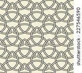 celtic seamless pattern.... | Shutterstock .eps vector #227546590