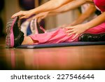 Stretching Pilate Exercises In...