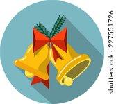 vector christmas bells | Shutterstock .eps vector #227551726