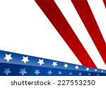 usa flag in style vector    Shutterstock .eps vector #227553250