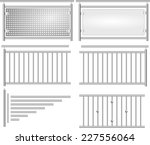 Stainless Steel Fence Set...