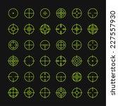 set of different flat vector... | Shutterstock .eps vector #227557930