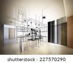 abstract sketch design of...   Shutterstock . vector #227570290