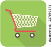 Shopping Cart Icon  Flat Desig...