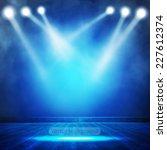 background in show. vector... | Shutterstock .eps vector #227612374