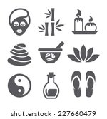 spa icons | Shutterstock .eps vector #227660479