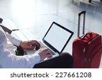 online banking on internet in... | Shutterstock . vector #227661208