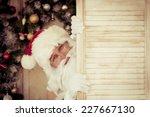 Funny Santa Claus. Christmas...
