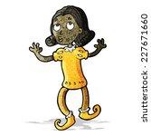 cartoon dancing prince | Shutterstock .eps vector #227671660