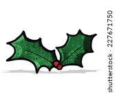 cartoon holly   Shutterstock .eps vector #227671750