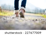 low angle ground level view... | Shutterstock . vector #227677009