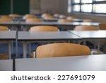 Empty Classroom Background
