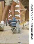 framing construction contractor ... | Shutterstock . vector #227725840