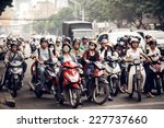 saigon   december 28  road... | Shutterstock . vector #227737660