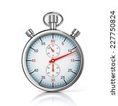 stopwatch 3d illustration  | Shutterstock . vector #227750824
