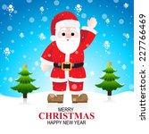 christmas santa   Shutterstock .eps vector #227766469