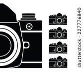 camera vector illustration | Shutterstock .eps vector #227776840