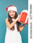 smiling funny child  kid  girl  ... | Shutterstock . vector #227781484