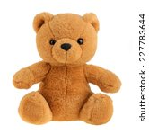 toy teddy bear isolated on... | Shutterstock . vector #227783644