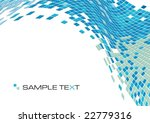 squares mosaic texture  vector... | Shutterstock .eps vector #22779316