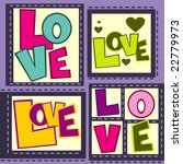 love vector design | Shutterstock .eps vector #22779973