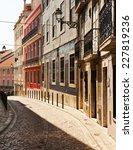 lisbon  portugal. | Shutterstock . vector #227819236