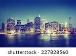 New York City Panorama Night...