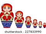 Matryoshka Doll Russian Nesting ...
