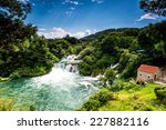 Waterfalls Krka  National Park...