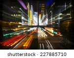 and abstract neon light image... | Shutterstock . vector #227885710