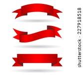 ribbon banners | Shutterstock .eps vector #227918518