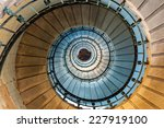 Spiral Staircase Detail Of The...