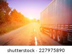 truck on a highway | Shutterstock . vector #227975890