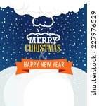 christmas greeting card....   Shutterstock .eps vector #227976529