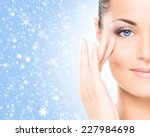 spa portrait of young and... | Shutterstock . vector #227984698