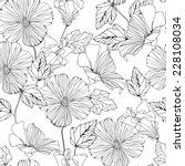 seamless pattern with... | Shutterstock .eps vector #228108034
