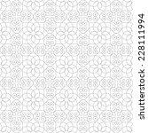 seamless pattern of... | Shutterstock .eps vector #228111994