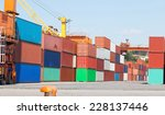 containers | Shutterstock . vector #228137446