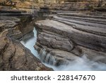 mistaya canyon is a canyon in... | Shutterstock . vector #228147670
