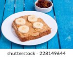 Peanut Butter With Banana And...