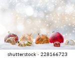 Abstract Christmas Background ...